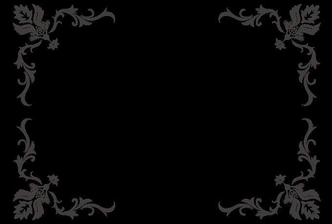 Corner Picture Frames frame no.00132 : four-corner frame | free design frame vectors